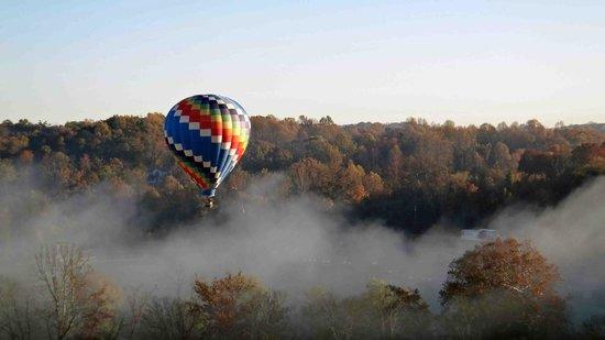 Blue Ridge Balloon: Breathtaking view