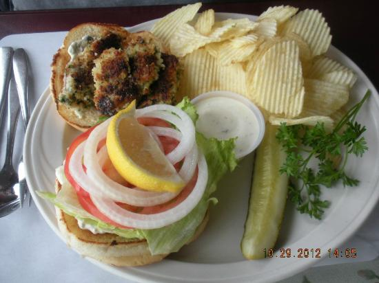 Roseanna's Cafe: Oyster Burger