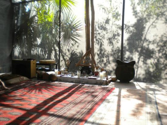 Cenote Encantado : Yoga room