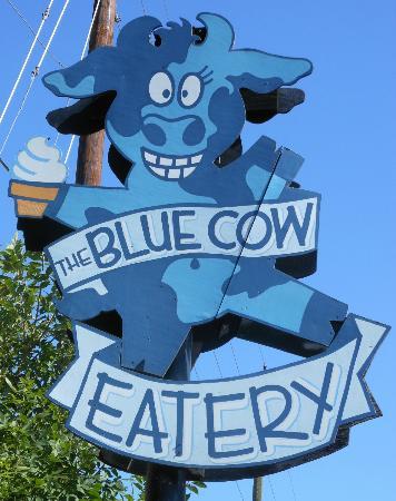 The Cow An Eatery: Blue Cow