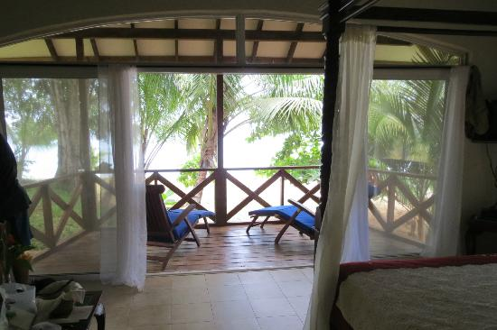Popa Paradise Beach Resort : View from our casita