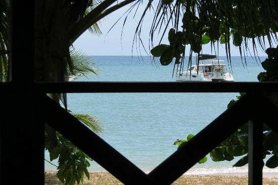 Popa Paradise Beach Resort : The view from our deck
