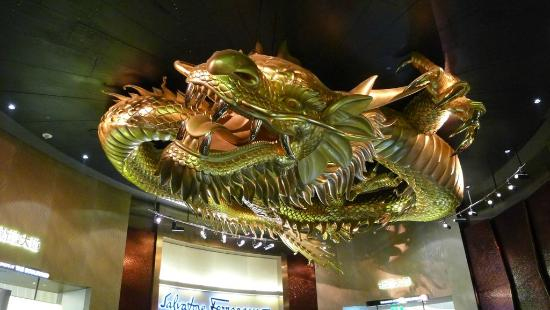 One More Dragon At City Of Dreams Picture Of Dragons Treasure