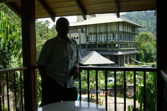 Earl's Regency: At the balcony of my room 104 at south wing