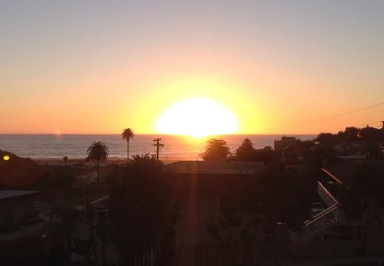 Encinitas, CA: view from our balcony