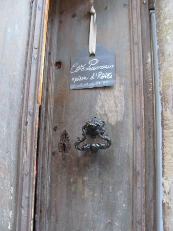 Côte Lourmarin : Entrance
