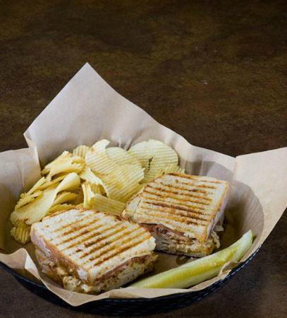 Griff's Deli: Chicken Chipotle Panini, always a must!