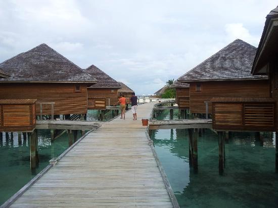 Vakarufalhi Island Resort: water villas