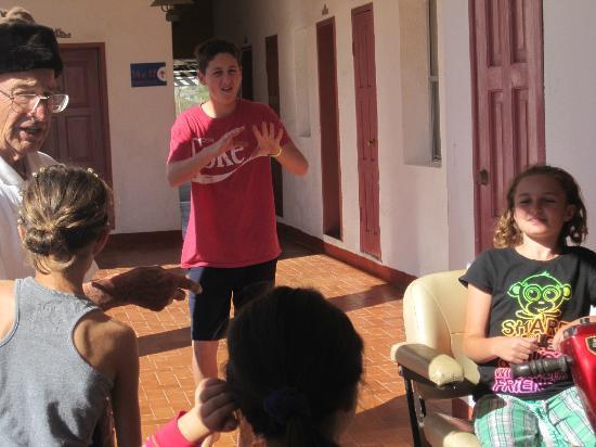 Las Palmas Hotel: Kid friendly