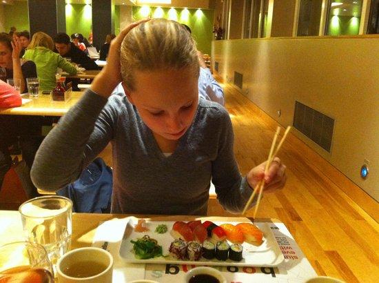 Wagamama - Bloomsbury: Sushi plate