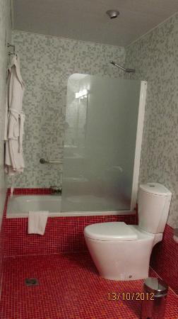 Hotel Palacio del Marques de San Felipe y Santiago de Bejucal: baño, habitación standard