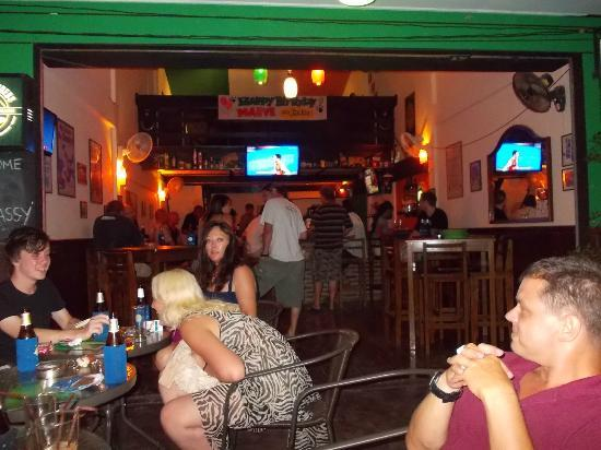 The Irish Embassy Pub : our little pub.