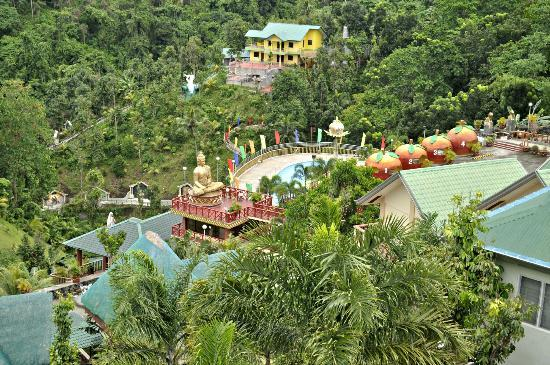 Mataas Na Kahoy, Philippines: View from the tree top