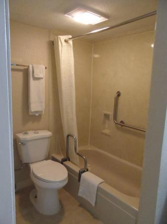 Red Roof Inn - Waco: Rm 103 - Bathtub