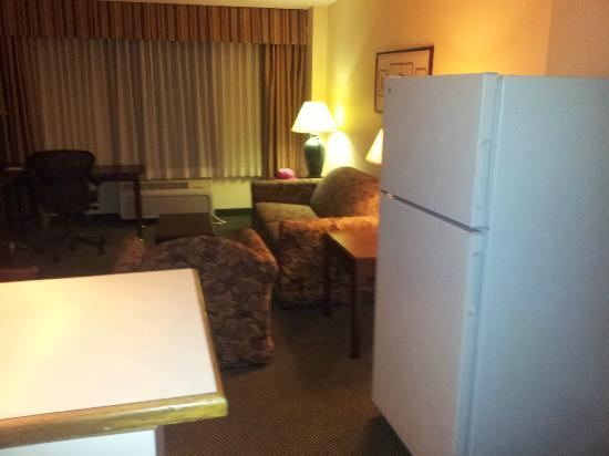 Ramada Englewood Hotel and Suites: Living room