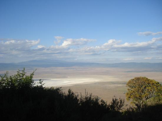 Ngorongoro Serena Safari Lodge: brilliant view