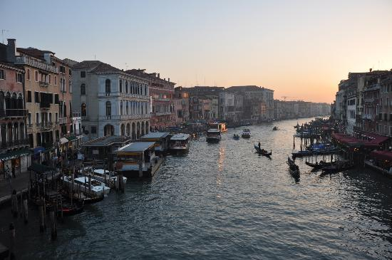 Ca' San Polo: Vue du pont Rialto