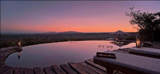 Mara Bushtops: awe inspiring views from the pool
