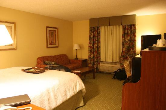 Hampton Inn & Suites Fort Myers - Colonial Blvd: Bedroom