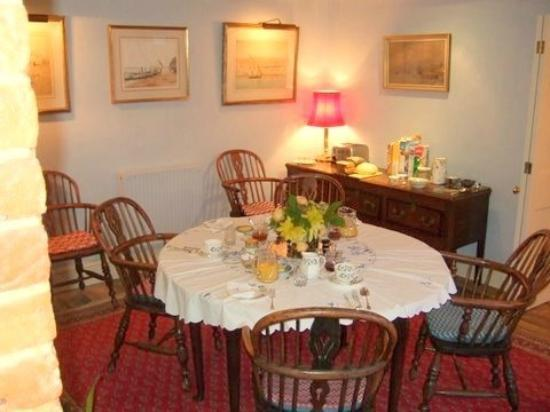 Shalbourne, UK: Breakfast room