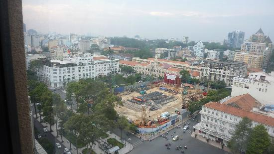Caravelle Saigon: View from our room