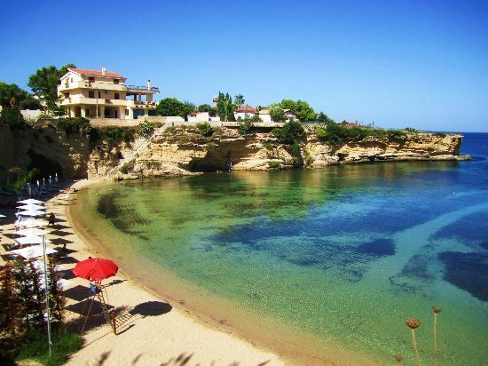 La spiaggia foto di grand hotel minareto siracusa for Hotel resort siracusa