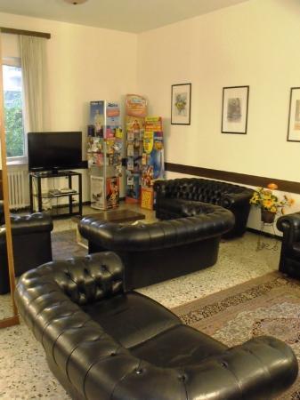 Hotel La Coccinella: Sala televisione