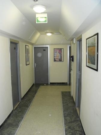 Hotel La Coccinella: Corridoio