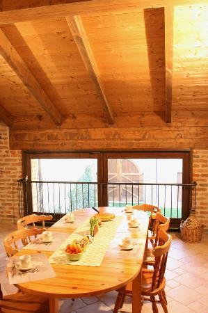 La Corte San Michele: Sala colazione B&B