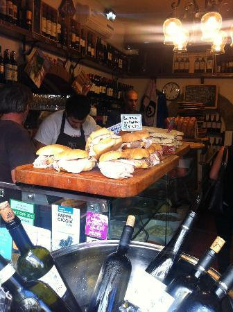 All' Antico Vinaio: inside1