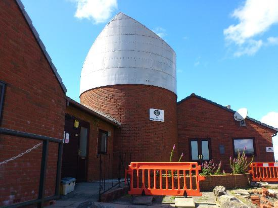 The Spaceguard Centre & Observatory: The entrance to the centre