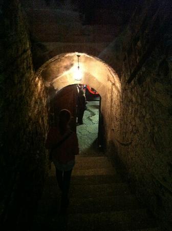 Castello del Trebbio: cellar's 2