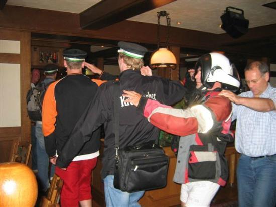 Hotel Schweinsberg: Ambiance in de bar