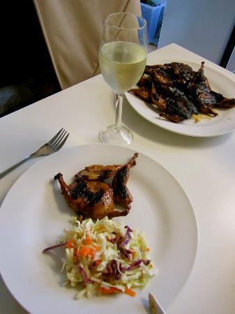 Bruny Beachside Accommodation: BBQ dinner