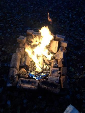 Adventure in the Meadow: Fire pit :)