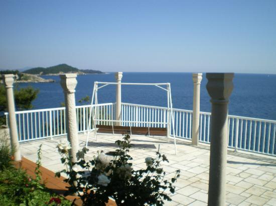 Villa Smodlaka: Big terrace