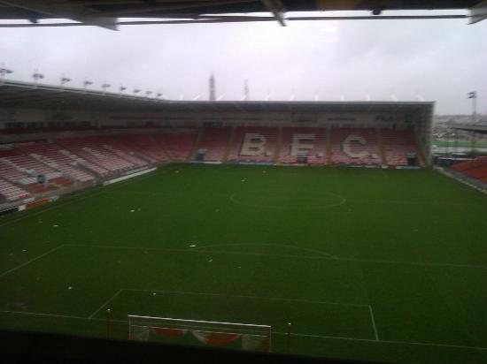 Blackpool FC Hotel and Conference Centre: View from Room 326