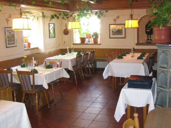 Stetten am Kalten Markt, Alemania: Restaurant
