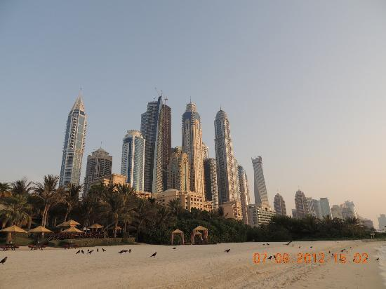 The Palace at One&Only Royal Mirage Dubai: Beach & Sky Scrapers