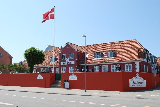 Fanoe, Dänemark: Front