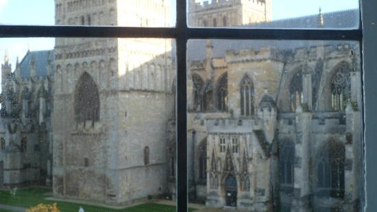 ABode Exeter: the cathedral from our window