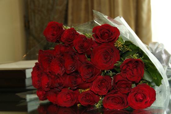 The Leela Palace New Delhi: Leela Palace - Mon bouquet de roses pour notre lune de miel