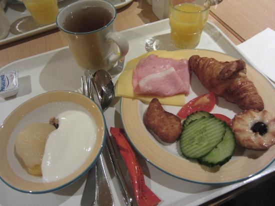 Hotel Ibis Schiphol Amsterdam Airport: 朝食の一例