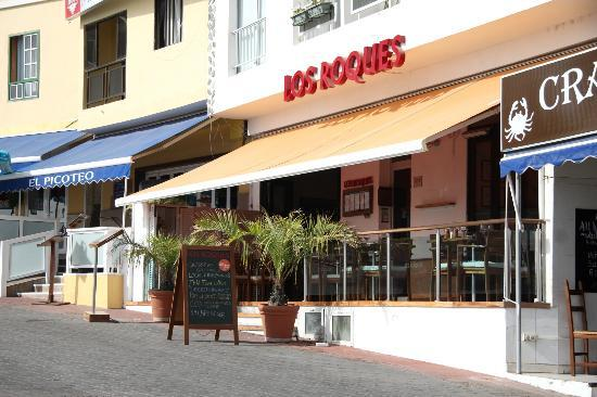 Restaurante Los Roques: Ready for business