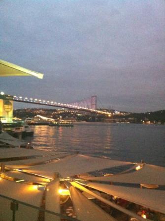 Radisson Blu Bosphorus Hotel, Istanbul: Blick vom Radisson Restaurant