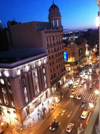 Hotel Atlantico: View outside