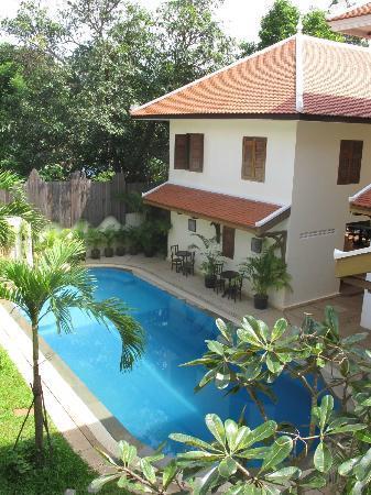 La Villa Coloniale: outside view