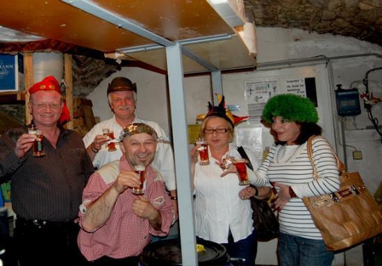 Landhotel Drei Lilien: Lustige Veranstaltungen wie die Bierparade
