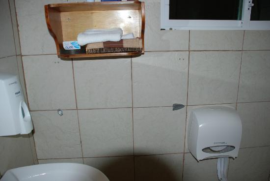 Casa Opuntia Galapagos: Kein nutzbarer Handtuchhalter