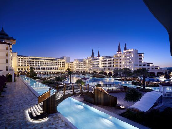 Overview of resort premises - Mardan Palace in Antalya